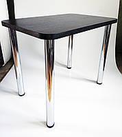 Стол кухонный на хромированных ножках с толстой столешницей. Столешница 32 мм. Очень надежный.