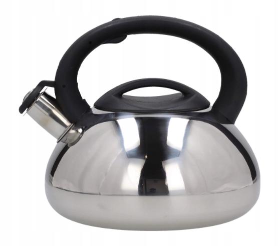 Чайник зі свистком 3,0 л з нержавіючої сталі 1317-WK