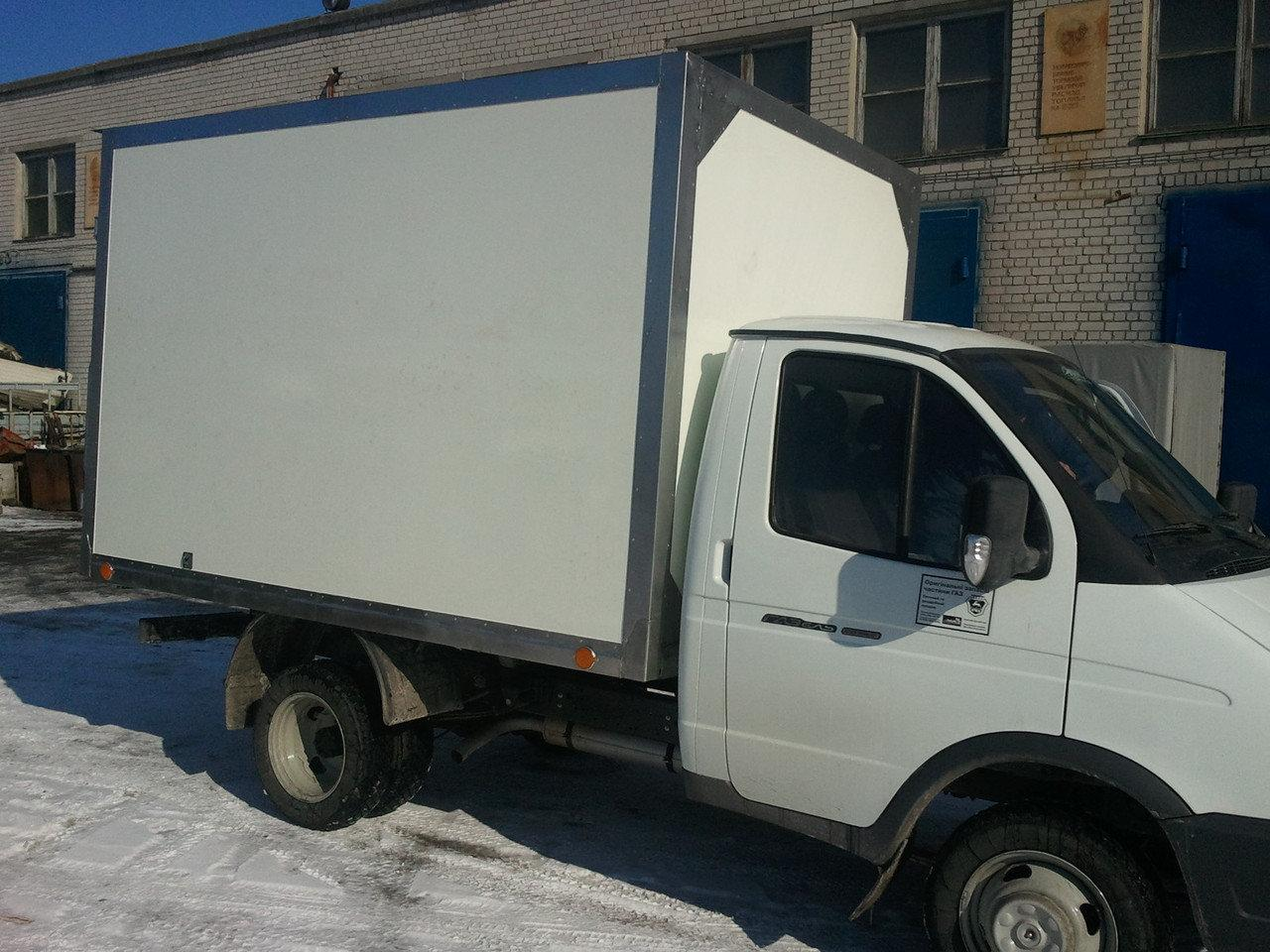 Заказать изготовление промтоварного фургона