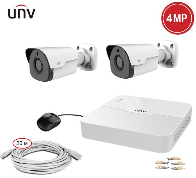 Комплект IP видеонаблюдения Uniview KIT-301P-2244