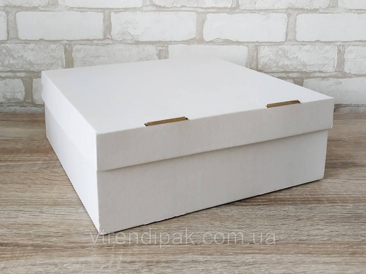 Самозбірна коробка для пирога 300*300*110