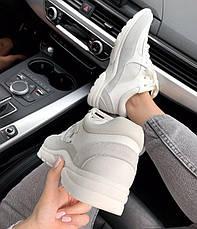 """Женские кроссовки Chanel """"white"""", фото 2"""