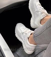 """Женские кроссовки Chanel """"white"""", фото 3"""