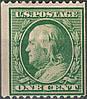 USA - Coil Stamp 1908 sc#348