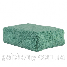 Аплікатор з мікрофібри Green Microfiber Applicator Pad Chemical Guys, MIC29802