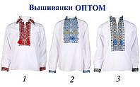 Вышиванка для мальчика вишиванка рубашка сорочка хлопчику Українські вишиванка дитяча производитель оптом