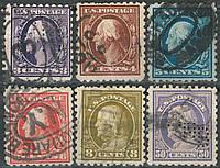 U. S. Postage 1916-1917