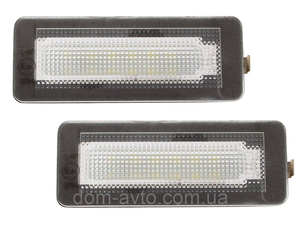 Подсветка заднего номера A4518200256 4518200256 Q0000883V004L00400 Smart Fortwo W450 W451 W453 LED