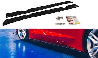 Диффузоры порогов юбка элерон накладки тюнинг Chevrolet Corvette C7
