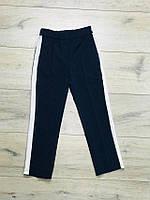 Школьные брюки с лампасами для девочек. 122- 146 рост