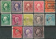 USA Flat Plate Printing 1917-1919