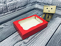 *10 шт* / Коробка для пряников / 100х150х30 мм / печать-Красн / окно-обычн, фото 1