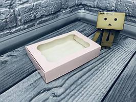 *10 шт* / Коробка для пряников / 100х150х30 мм / печать-Пудр / окно-обычн / лк