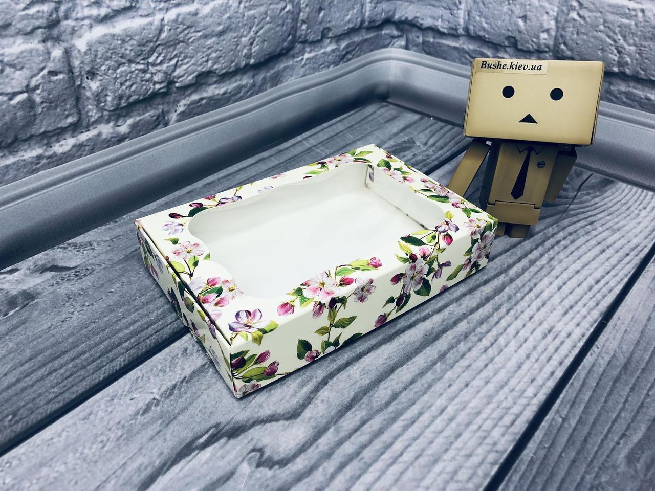 *10 шт* / Коробка для пряников / 100х150х30 мм / печать-Весна / окно-обычн / лк / цв
