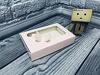 *10 шт* / Коробка для пряников / 100х150х30 мм / печать-Пудр / окно-Бабочка / лк, фото 1