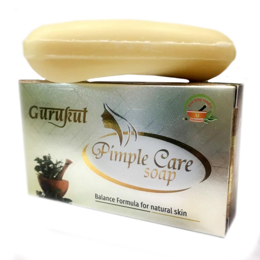 Мыло от прыщей Pimple Care Gurukut, 75 грамм