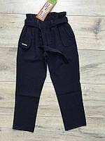 Школьные брюки на резинке, с карманами. ( Костюмная ткань). 122- 140 рост, фото 1