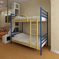 Кровать FLY DUO . Флай дуо Метакам. Металлическая кровать.