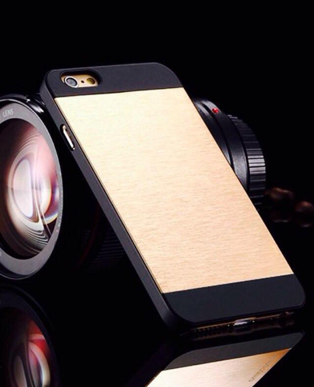 Чехол Gold Matte для Iphone 6 plus/ Iphone 6s plus матовый