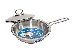 Сковорода из нержавеющей стали с крышкой Arian Gastro 28 см 4TVDGR0028001