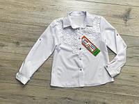 Котоновая блузка для девочек. 122- 146 рост