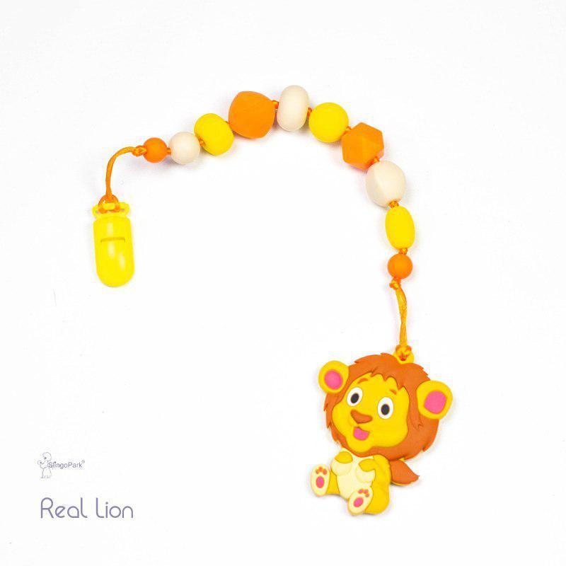 Грызунок из пищевого силикона Real Lione BABY MILK TEETH