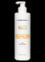 Очищающий гель с фруктовыми кислотами для всех типов кожи, 300 мл/Fresh AHA Cleansing Gel
