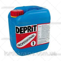 ДЕПРИТ ПРОФ 1 - Средство для удаления пятен от крови, белков, остатков пищи и пигменты, 5 л.