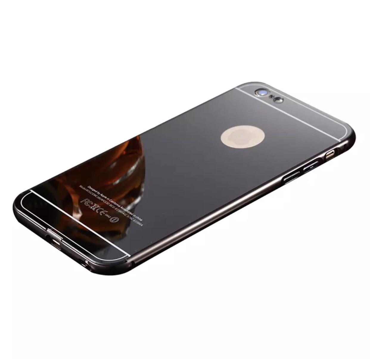Чехол для Iphone 6 plus/6S plus зеркальный, black