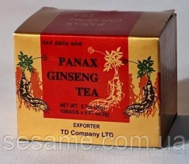 Чай красного корейского женьшеня korean ginseng tea Wongin - T (Корея) 20г