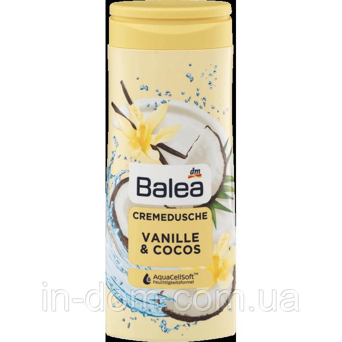 Balea Cremedusche Vanille & Cocos крем гель для душа Ваниль и Кокос 300 мл