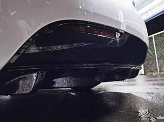 Диффузор Tesla Model S элерон тюнинг заднего бампера