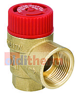 Предохранительный клапан AFRISO, 1,5 BAR