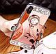 Чехол для Iphone 6/6s с камнями и кольцом-подставкой rose gold, фото 8