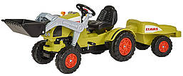 Трактор педальный с ковшом и прицепом Клаас CLAAS Celtis Loader Trailer BIG 0056553