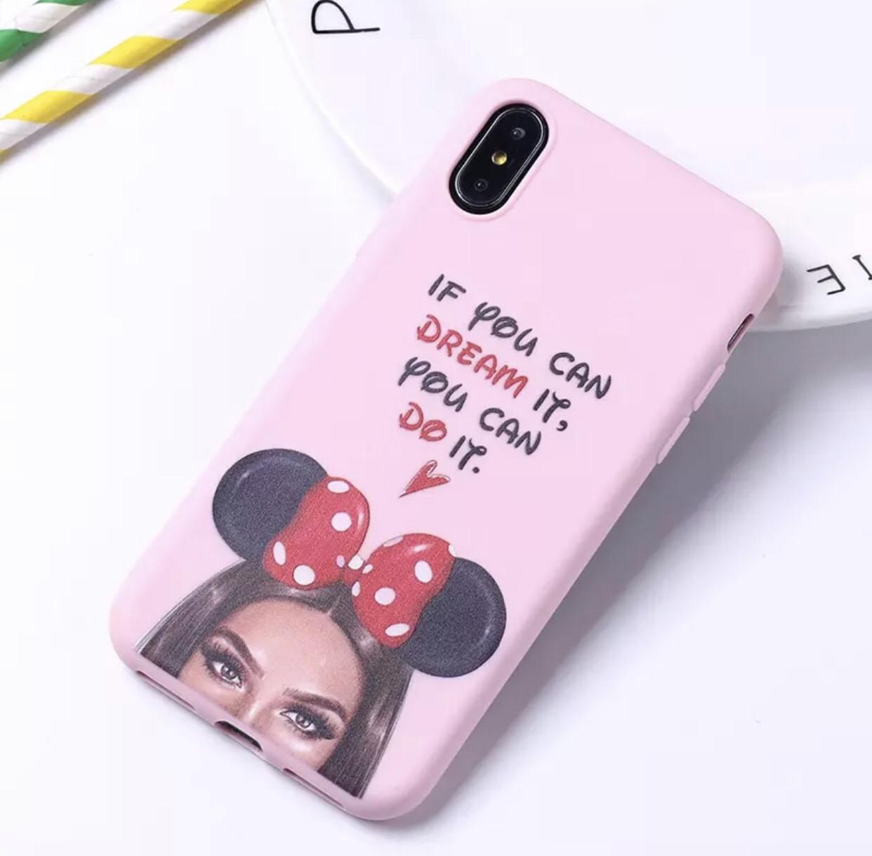 Чехол на IPhone 6/Iphone 6s Силиконовый  Minnie