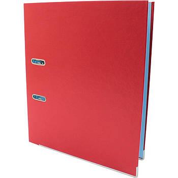 Папка-регистратор Economix Lux A4, 50 мм, красный E39722-03