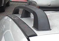 Рейлинги Volkswagen Caddy ЧЕРНЫЕ короткая база, Фольксваген Кадди