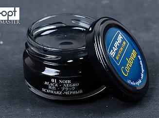 Крем для кожи кордован Saphir Cordovan, цв. черный (01), 50 мл (sphr0052)