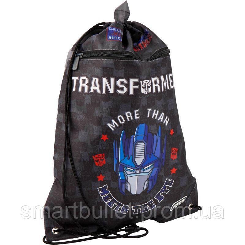 Сумка для взуття з кишенею KITE Education Transformers TF19-601M-3