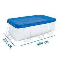 Тент BestWay 58232 для прямоугольного каркасного бассейна 412-201 см