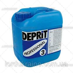ДЕПРИТ ПРОФ 3 - Средство для удаления пятен от сок, вино, кофе, чай, кола и медикаменты, 5 л.