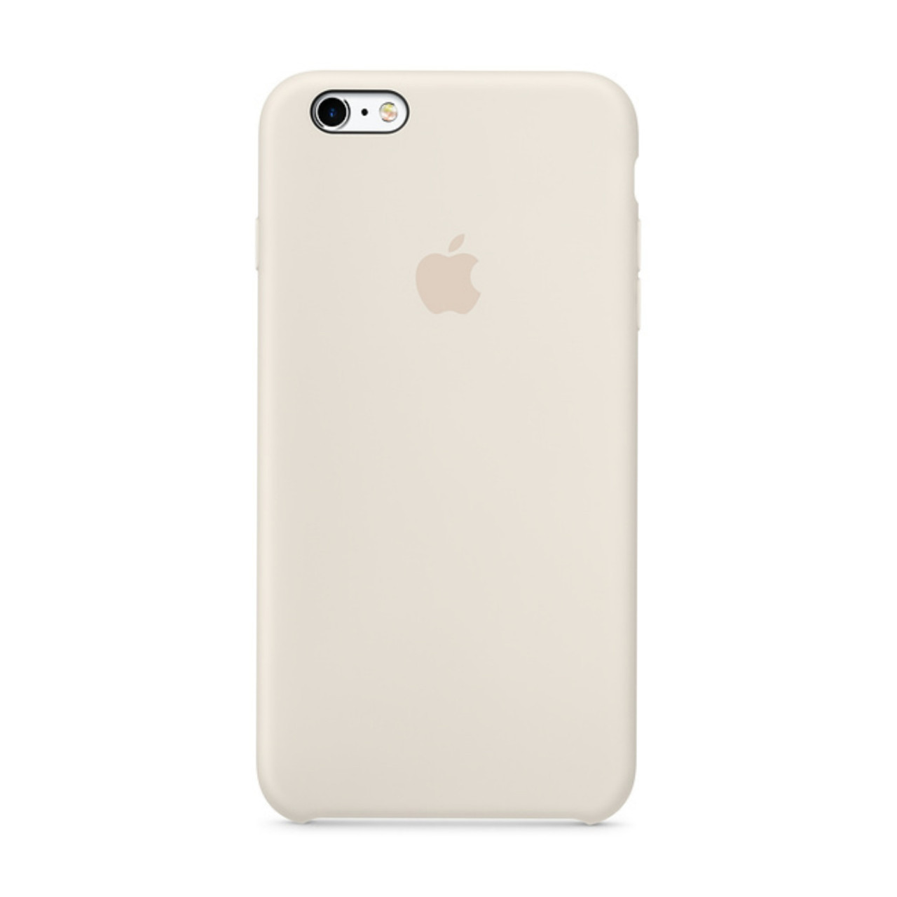 Накладка оригинальный чехол для  iPhone 7 plus/Iphone 8 plus Silic  iPhone 6/6sSilicone case, белый