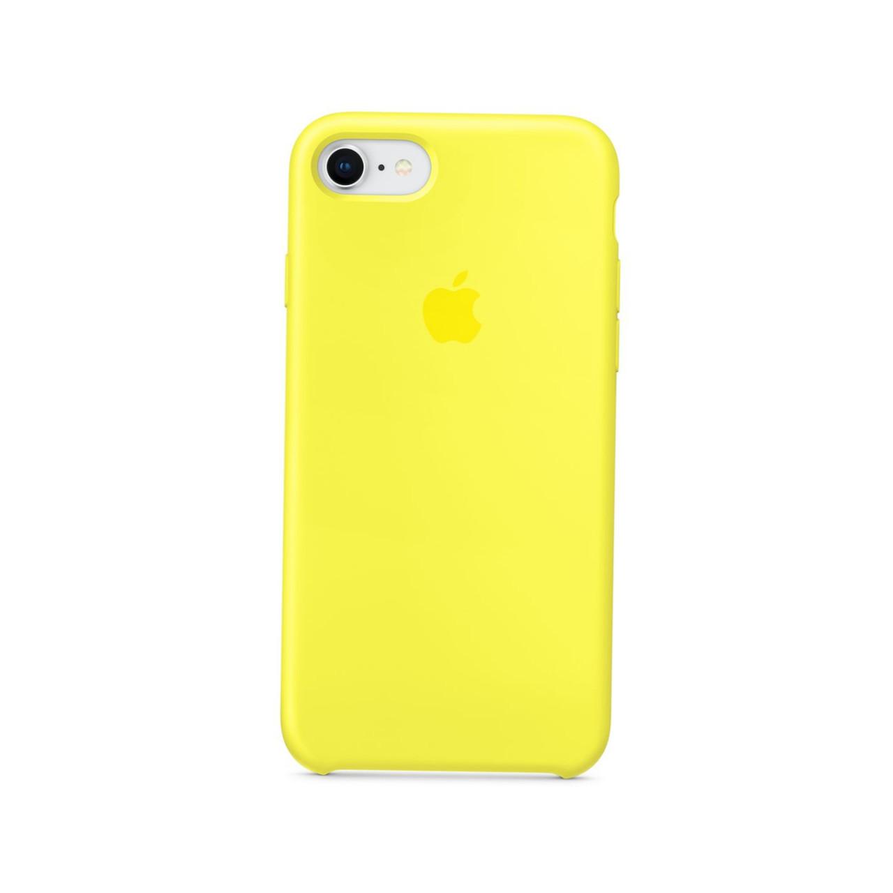 Оригинальный чехол для  iPhone 6/6sSilicone case, желтый