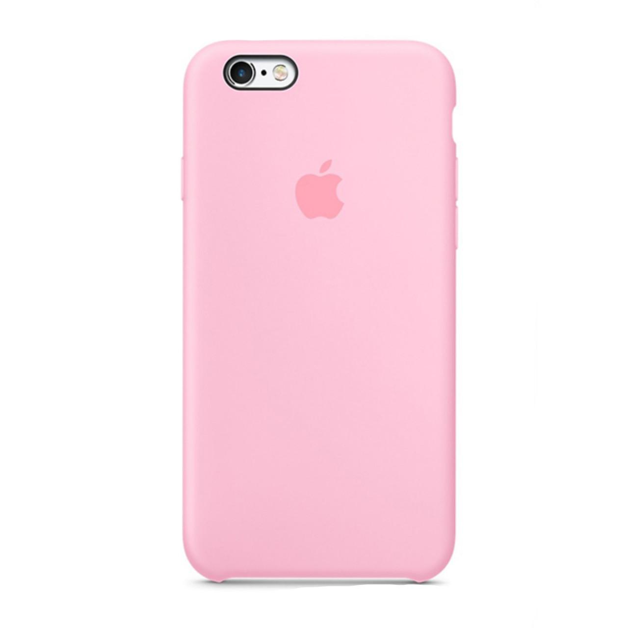 Оригинальный чехол   iPhone 6/6sSilicone case, pink