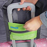 Вместительная дорожная сумка для ручной клади или багажа, складывается в мешочек, фото 3