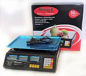 Ваги електронні 50 кг 4V Wimpex