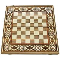 Шахматная доска. 40х40 см. Бисер