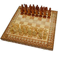 "Шахматы ""Казаки"". Бисер+Медь., фото 1"