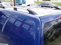 Рейлинги Volkswagen Caddy ХРОМ короткая база, Фольксваген Кадди